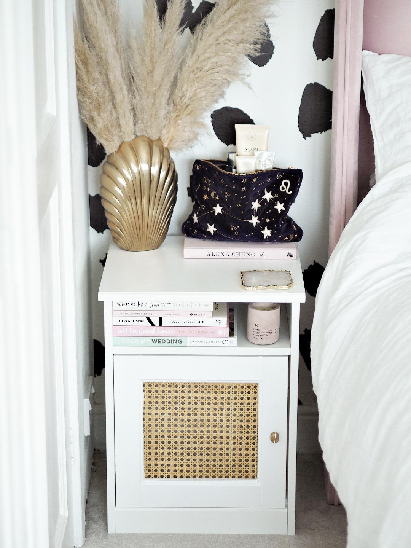 Rattan Cane Ikea Bedside Table Diy Hack Lust Living